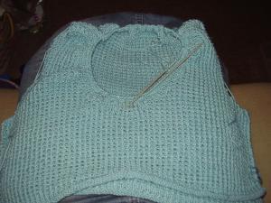 Neckknitting